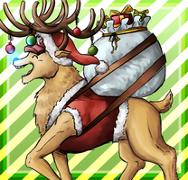 Happy birthday Chopper and Merry Christmas by Deer-Head