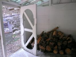 Wood Shed by StockChroma