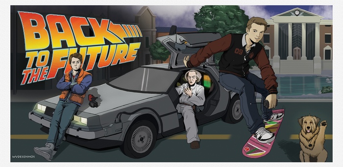 Commission - Back to the Future by Mirthol