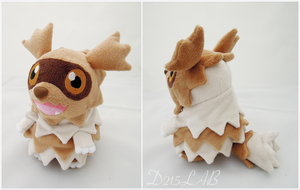 Zigzagoon Plush by d215lab