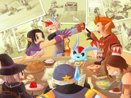 FFXI - Munching Memories by suzuran