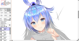 WIP - Painting Aqua by Fhilippe124