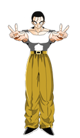 Yamcha Dragon Ball GT Render by PauloDbZ