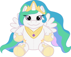 [mlp plush] Princess Celestia by pagangirl1986