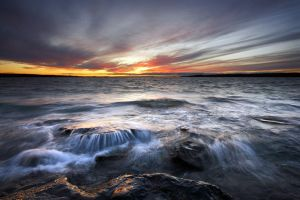 Shoreline Cascade by tfavretto