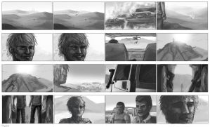 Storyboard Western style by Ruth-Tay