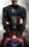 Captain America by markhossain