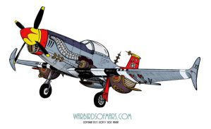 P-51X9 by DocRedfield
