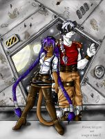 Konnie and Leopold Space by jac
