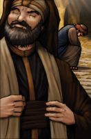 Pharisee and Tax Collector by eikonik