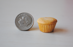 Miniature Cupcake by ClayRunway