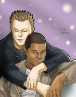 Jake and Mickey by Autumn-Sacura
