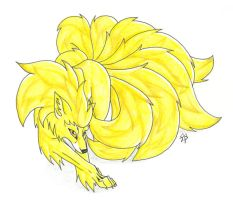 Ninetails by CaptainMorwen