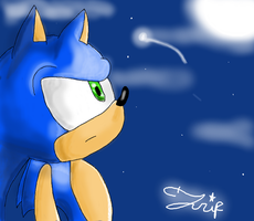 Sonic And The Stars by Triplet99c