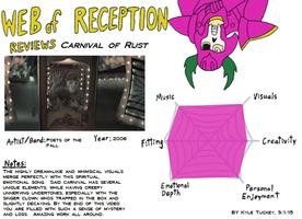 Web Of Reception: Carnival of Rust by kyrtuck