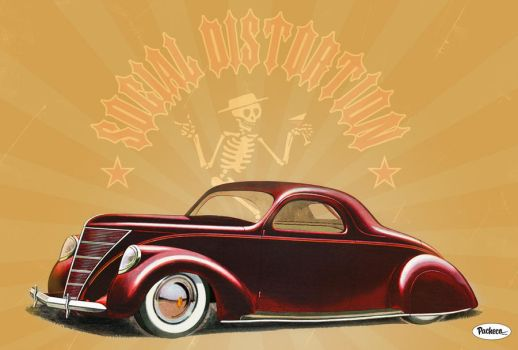 Social Distortion by PachecoKustom