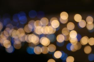 Bokeh lights by Dom410