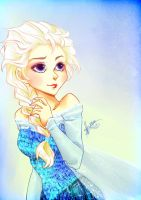 Queen Elsa by xMarsXXX