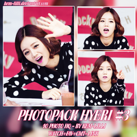[PHOTOPACK] HYERI OF GIRL'S DAY #3 by Kem-Lilli