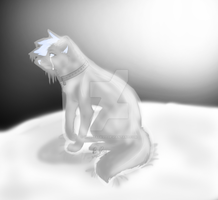 Sitting As Icy Stone 2014 Remake by wolfpacks11