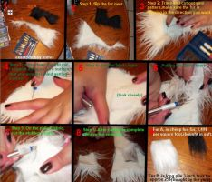 Fur cutting tutorial by Itachi32068