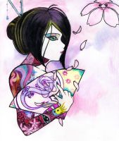 Geisha by SweetnThimble