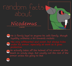 Nico Random Facts by millemusen