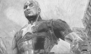 Chris Evans Captain America Avengers by ShayneMurphy