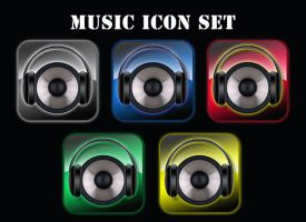 My Music 5 pack by victor1410