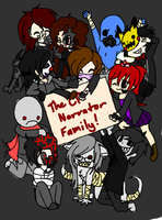 The CP Narrator Family! by JustALittleShadow