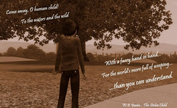 Come Away Oh Human Child by Allacia