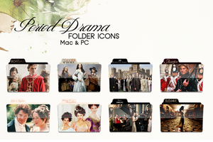 Period Drama TV Folder Pack by dainesalamin