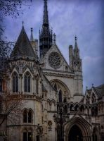 Royal Courts of Justice by AliaChek
