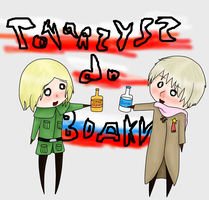Towaszysz do wodki by Kira--Raito