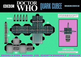 Doctor Who - Quark Cubee by mikedaws