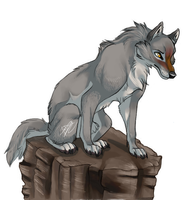Lets howl on a rock by pharao-girl