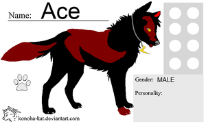 Ace The Wolf by WolfGirl0001