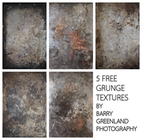 5 Free Textures by BarryGreenland