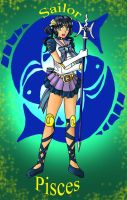 Sailor Pisces by Dracophile
