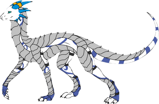 Saphira Armored by Wolverine6913