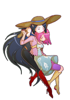 Bubbline colors by Saki-BlackWing
