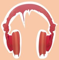 Strawb Headphones by Scwiggle