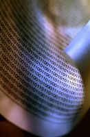 Binary Code 3379783 by StockProject1