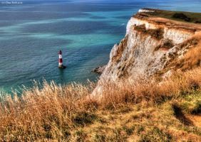 HDR - Beachy Head by Engelsblut24