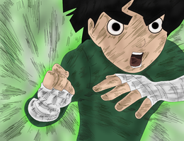 : Rock Lee : by Mikoti