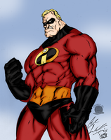 Mr Incredible by Blackmoonrose13