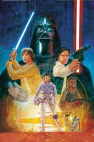 Star Wars Classic #1 Gamestop exclusive cover. by StephaneRoux