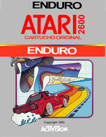 ATARI ENDURO LABEL by patomite