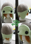 +FleeceHat:Custom+ Turtle Hat. by Stephys-Adoptables