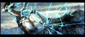 Electric snow by Ravoilie